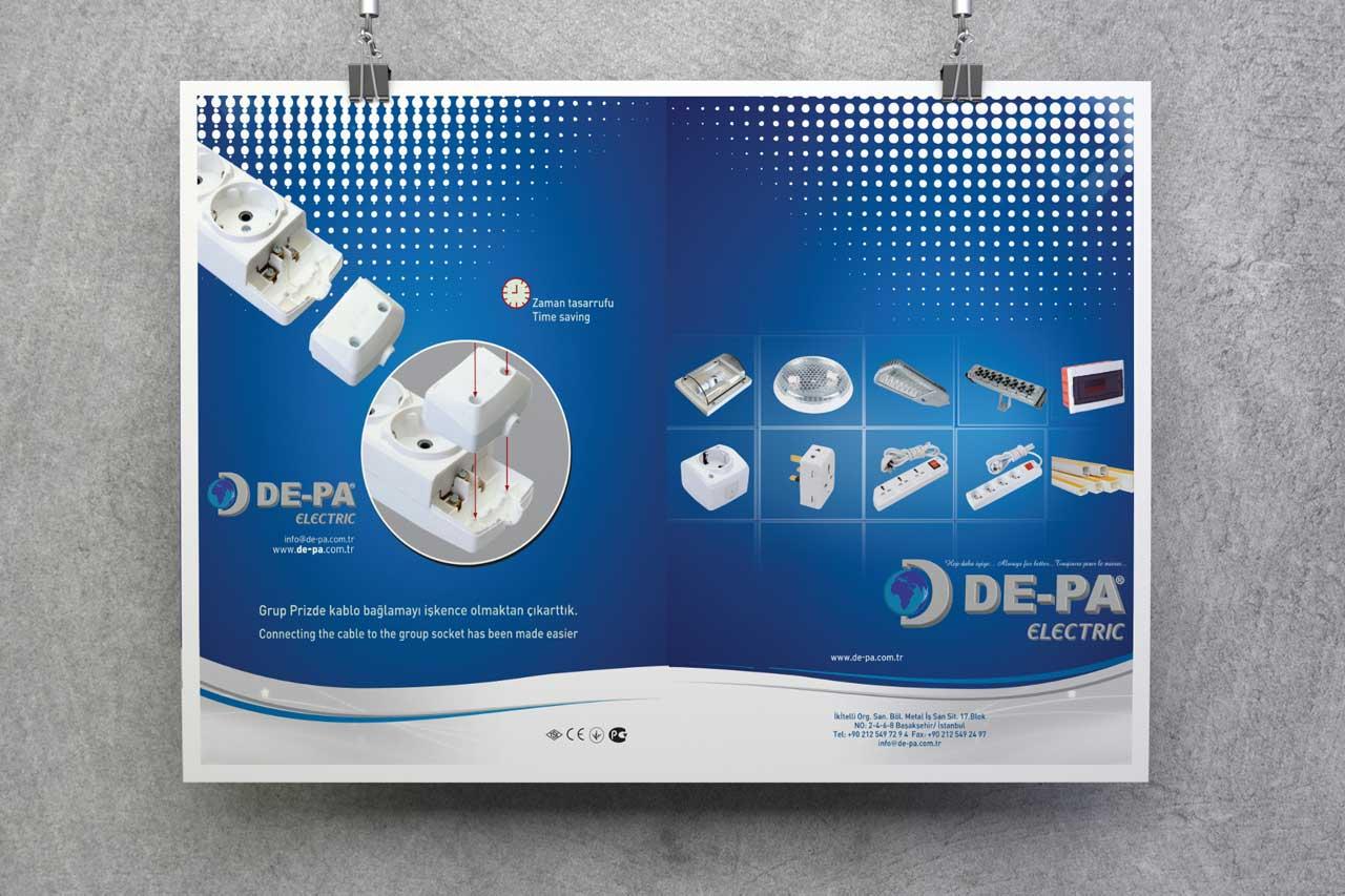 De-Pa Reklam Çalışması