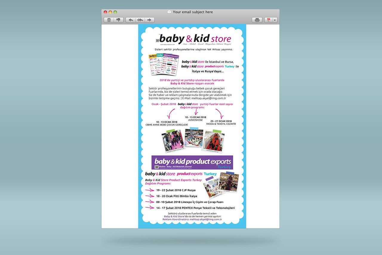 Baby Kid Store Mailing