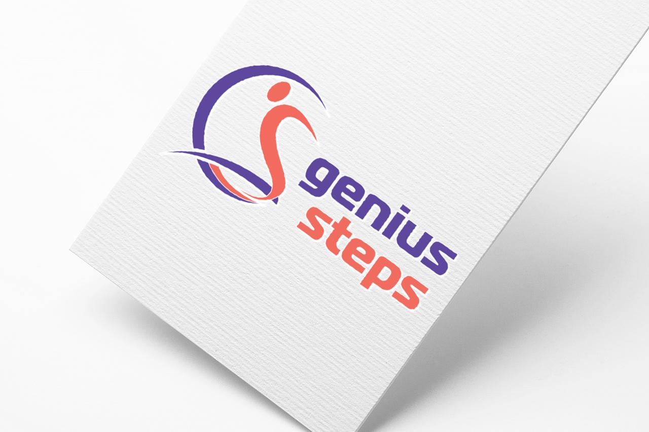 Genius Steps Logo Tasarım