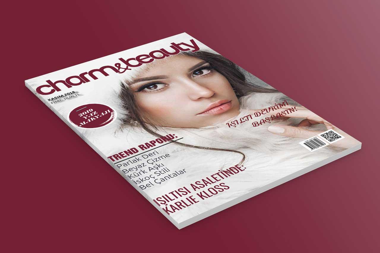 Charm & Beauty Dergi Tasarımı